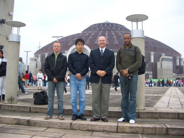 Toronto area members at World Taikai, Japan, Oct. 2005