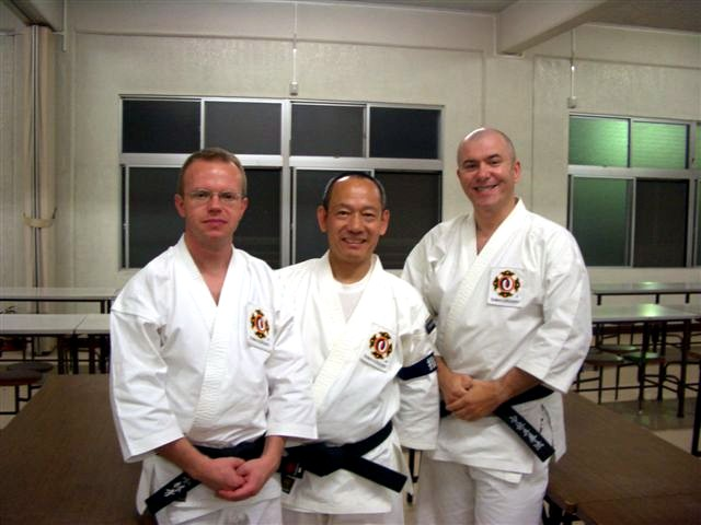 With Arai Sensei at Hombu, Oct. 2005