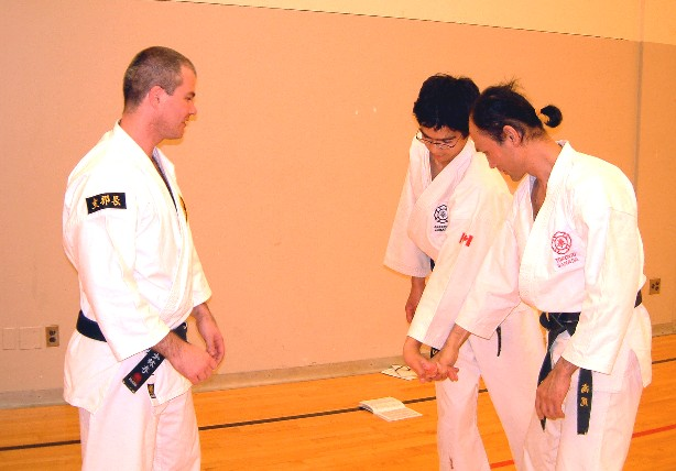Anders Pettersson-sensei of Sweden visited our Branch in May