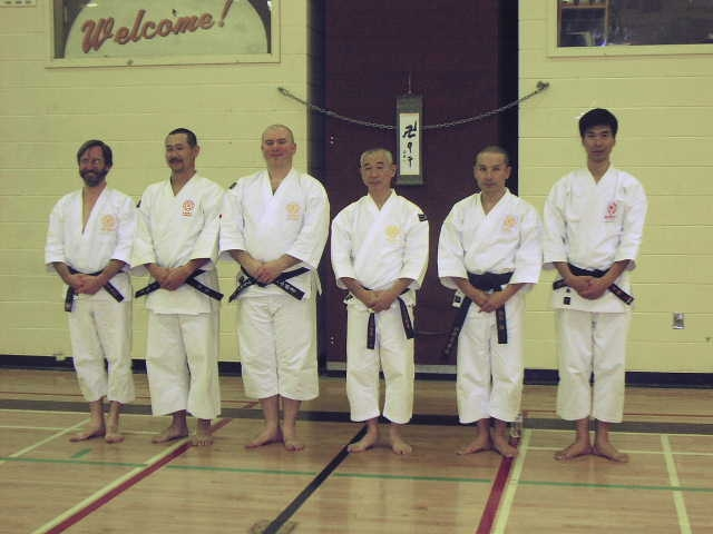 Toronto Gasshuku teaching staff