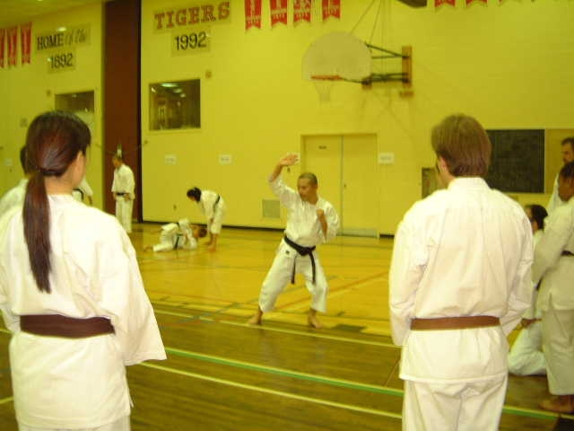 Hagata Sensei teaching