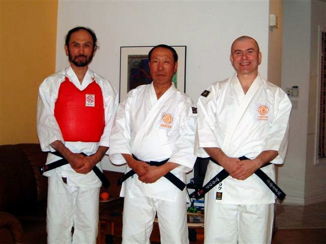 Tahara-sensei (Daihanshi, 8th dan) taught us in November