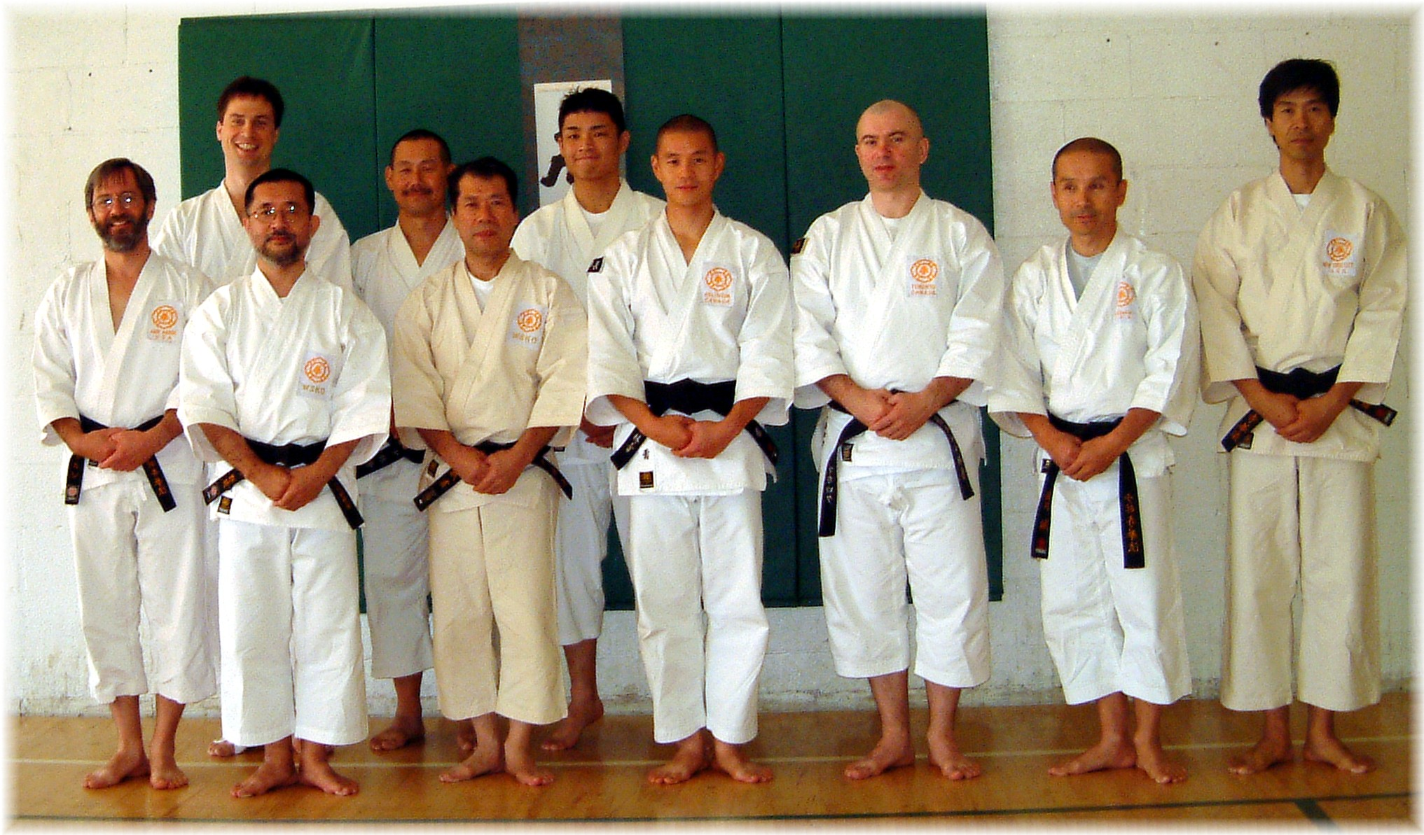We attended the WSKO North America Eastern Region Seminar in Ann Arbor in October 2003.  Akiyoshi-sensei (8th dan) led the event.